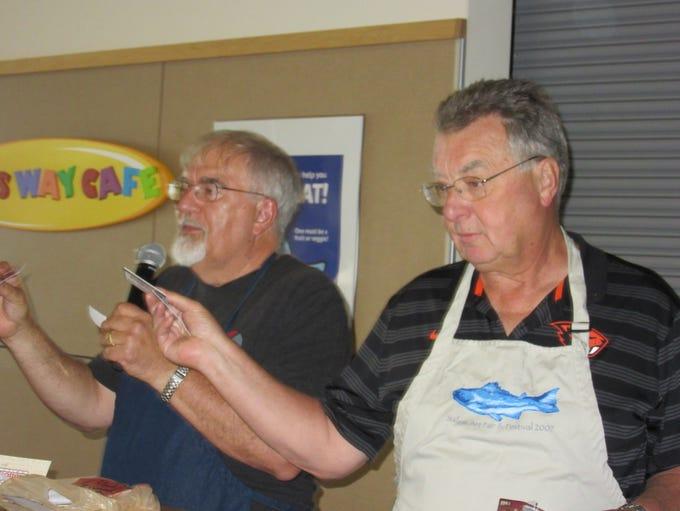 Paul Schultz and James Brukner speak at the Thrivent