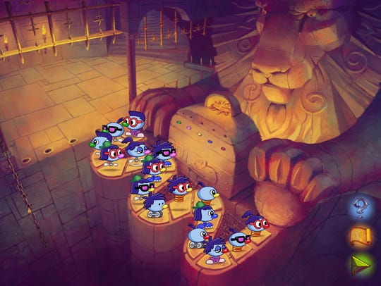 Zoombinis, a remake of the popular 1990s edutainment