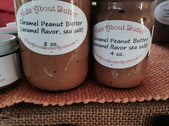 Caramel Peanut Butter is our Foodie Find of the Week, found at the Downtown Farmers Market in Fort Myers on Thursday.