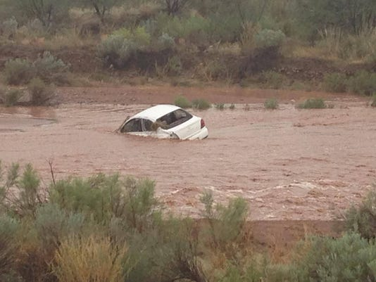 Flash flooding in Cochise County