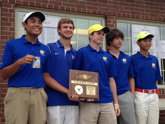 Westview boys won the District 13 A-AA title on Monday