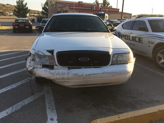 Sunland Park police on Friday chased a suspect to El