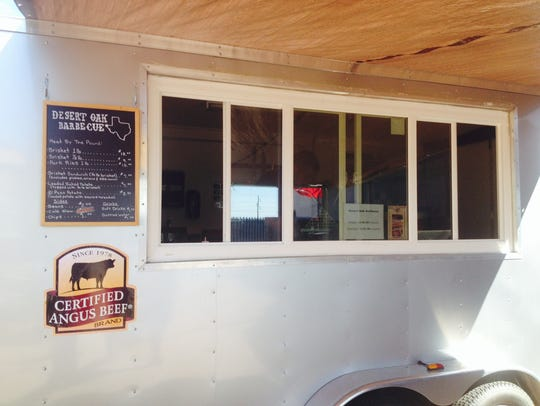Desert Oak Barbecue is open on Fridays and Saturdays