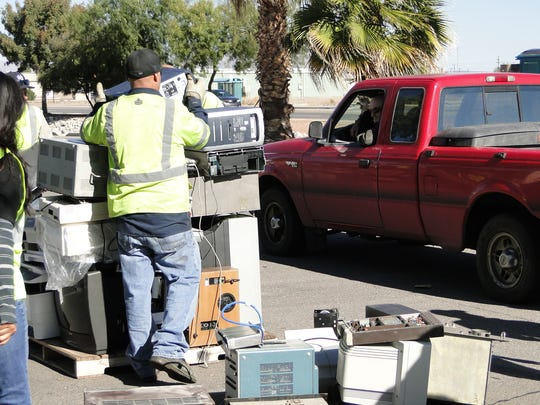 Residents of the city and county are encouraged to bring in electronics for recycling to keep toxic materials out of Corralitos Regional Landfill, and to allow the harvesting of precious metals from electronic components.