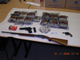 Heroin, cash and guns seized from an Indio Hills stash house are displayed in this DEA photograph.
