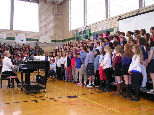 Edison Intermediate School vocal teacher Kristine Smith-Morasso