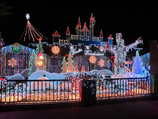 Birkett's Winter Wonderland, he spectacular animated