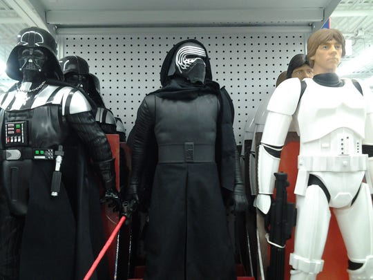 Star Wars is the talk of the season, among items available