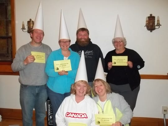 The losing team, PB&J, scored 44 points and won free admission to next year's Trivia Night.