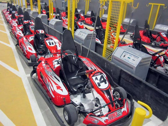 MB2 indoor go-kart track