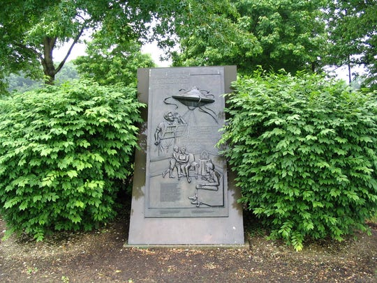 The location of the 1938 Martin Landing Site Monument
