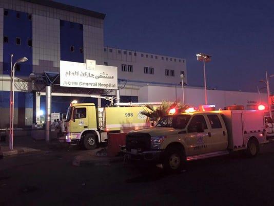 EPA SAUDI ARABIA HOSPITAL FIRE DIS FIRE SAU JI
