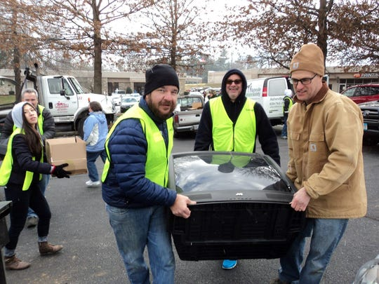 Asheville GreenWorks will accept old TVs and other electronics as part of its January Hard 2 Recycle event in West Asheville.