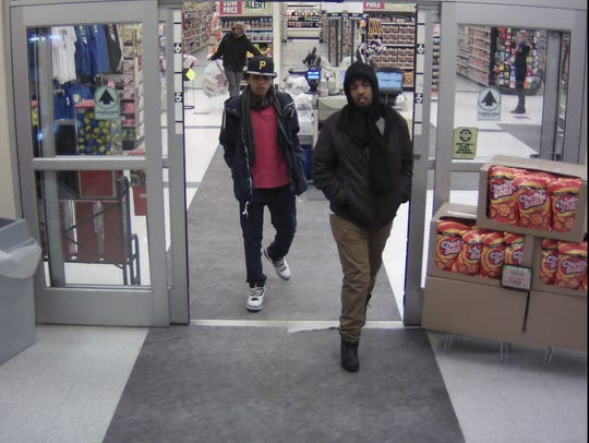 Coborn's security camera shows theft suspects.