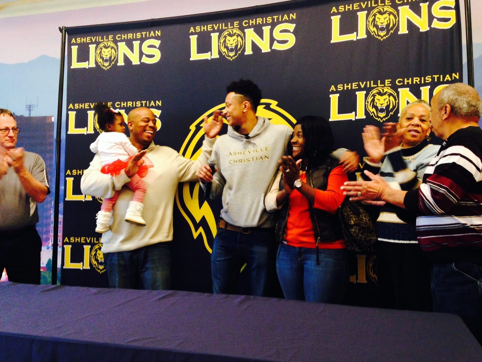 Asheville Christian Academy senior Jordan Shepherd committed to play college basketball for James Madison on Friday.