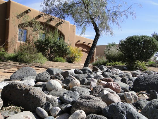 Well thought out, beautifully xeriscaped yards are
