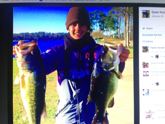 Dylan Kyle Poche was a member of the Northwestern State University bass fishing team.