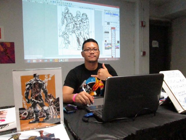 Guam artist's new graphic novel highlighted at Neo Con
