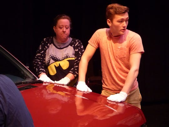 Diane Kester as Janis Curtis and Chad Showwalter as