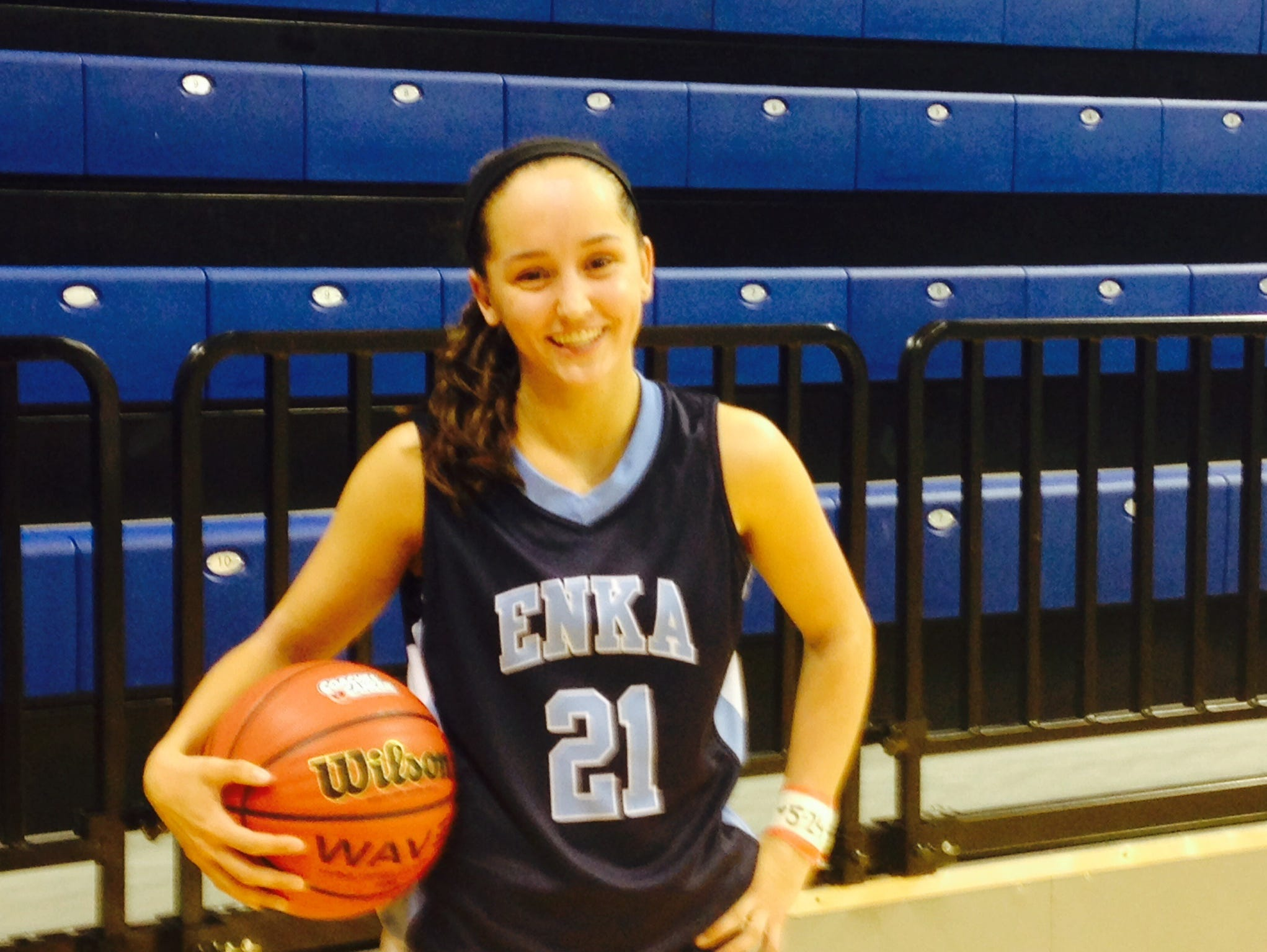 Enka senior Sam Olson is the Mountain Athletic Conference Player of the Year.
