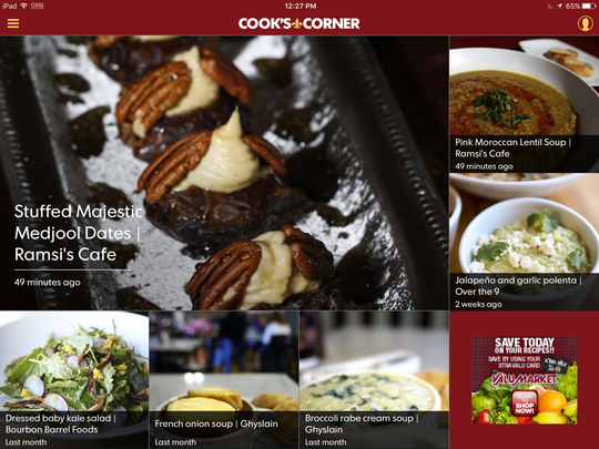 The CJ's Cook's Corner features new recipes each week