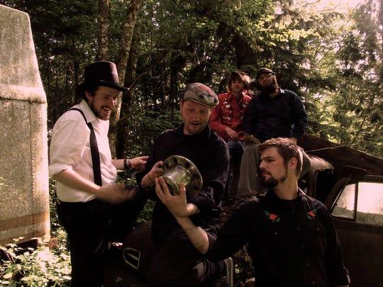 Indie roots rock band Cedar Teeth will play 2:45 p.m.