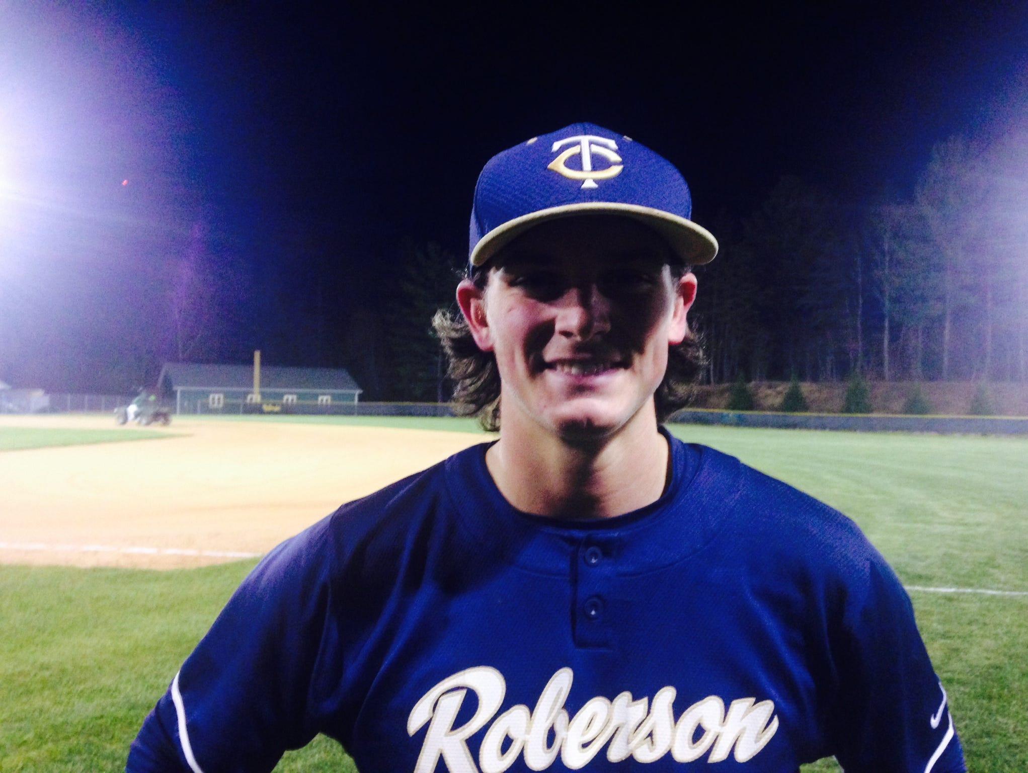 Roberson junior Garrett Blaylock