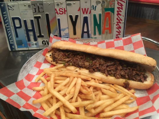 The classic Philly cheesesteak and fries will be on