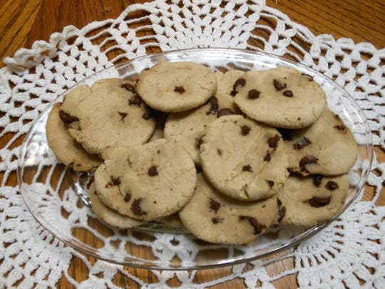 The chocolate chip cookies made by Barking Bakery are