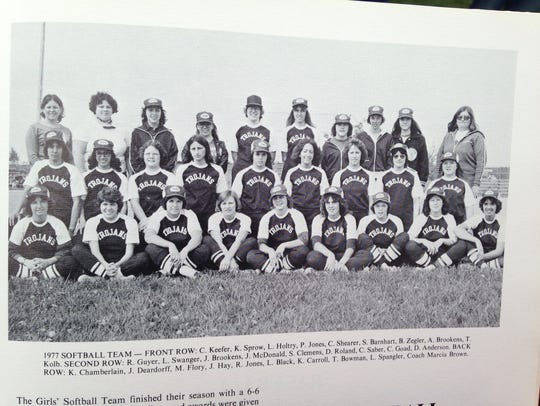 Here is a photo of Chambersburg's second softball team