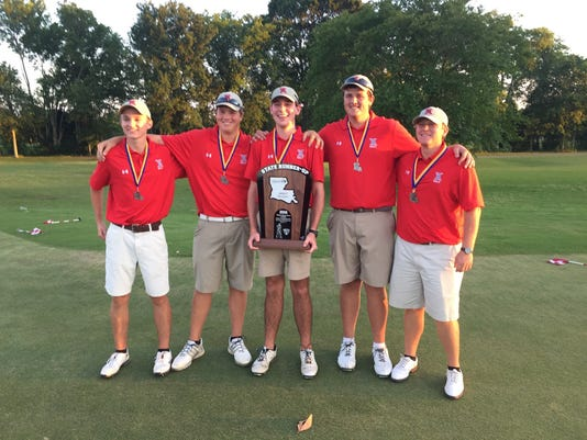 West Monroe boys golf