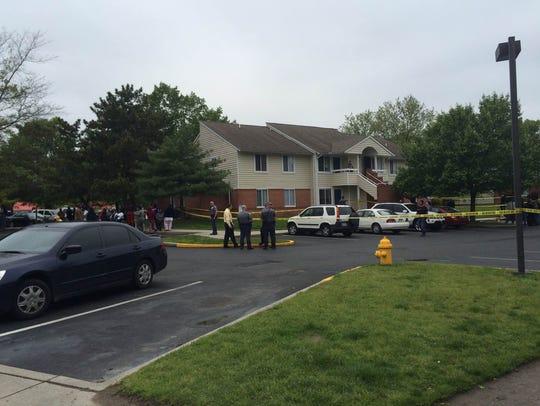 Law enforcement investigates a homicide in Salisbury
