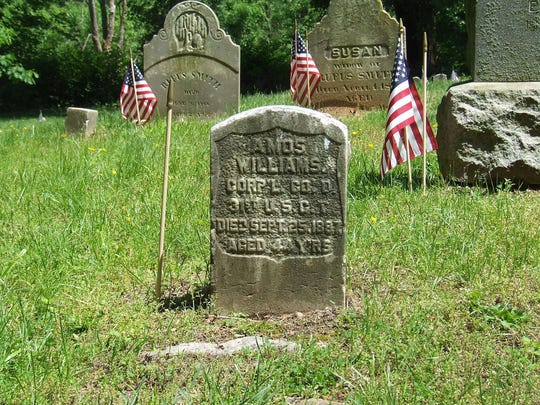 869011bd29cb Rye s African American Cemetery vandalized over Memorial Day weekend