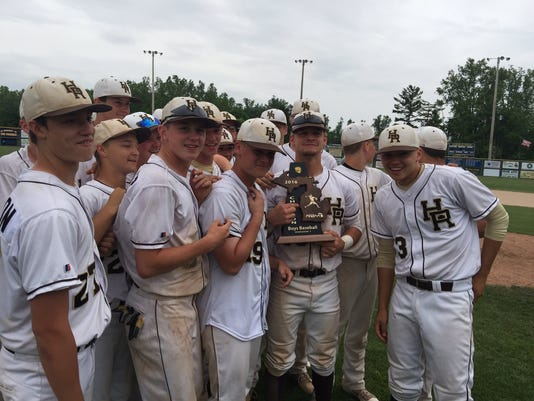 HOLT BASEBALL DISTRICT TITLE
