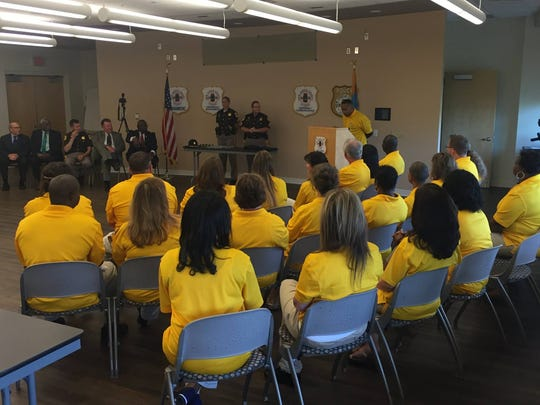 Graduation ceremony held for the Citizen Police Academy on Tuesday, May 31.