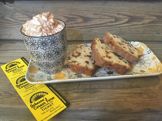Johnson's Corner Farm Snickerdoodle  Bread can serve as dessert, but we won't tell if you grab a slice for breakfast with your coffee.