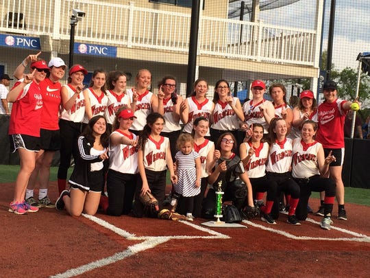Woodglen Lady Wildcats are the Champs! Pictured is