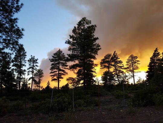 Cedar Creek Fire has burned more than 5,200 acres southwest