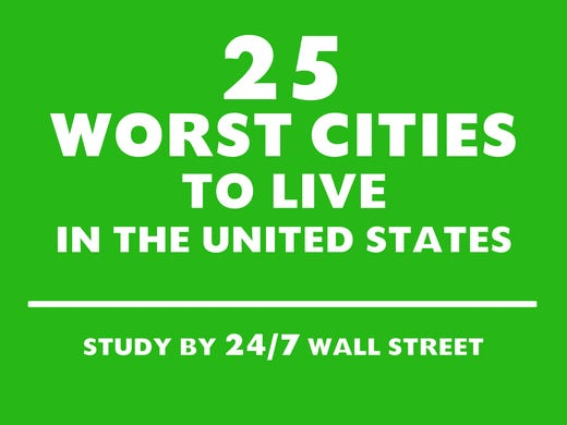worst us cities to live in