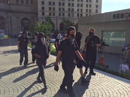 Cleveland Police To Protesters Dont Hide Your Faces