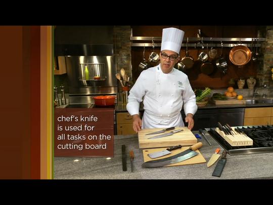 Chef Bill Briwa of The Culinary Institute of America