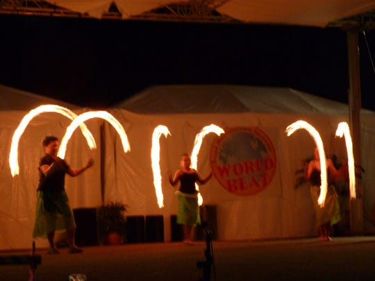 Fire spinners will close the Paradise of Samoa Luau Saturday, Sept. 3, in Keizer.
