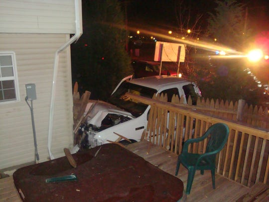 A truck crashed into the side of their home in 2010