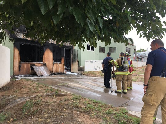 Eleven units and 30 firefighters responded to a condition