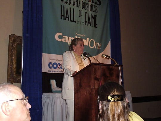 In 2005, Margaret McMillan became the first woman to be inducted into the Offshore Energy Center Hall of Fame in Houston because of her pioneering efforts in the field of offshore safety. McMillan died Wednesday at age 96.