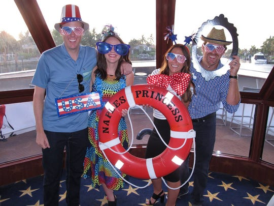 David Lawrence Center's Young Executives enjoy a sunset cruise aboard the Naples Princess on June 16, 2016. The cruise event is just one of many events hosted by the organization to raise money.
