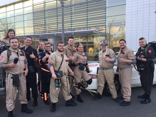 The Indiana Ghostbusters Jasper District will be joining the fun at Grandportation Day at the Evansville Museum