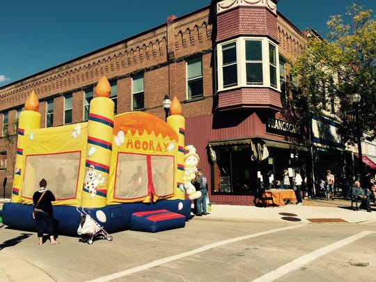 Fall Festival, presented by the Association of Downtown Businesses, will be held Sept. 17 in downtown Stevens Point.