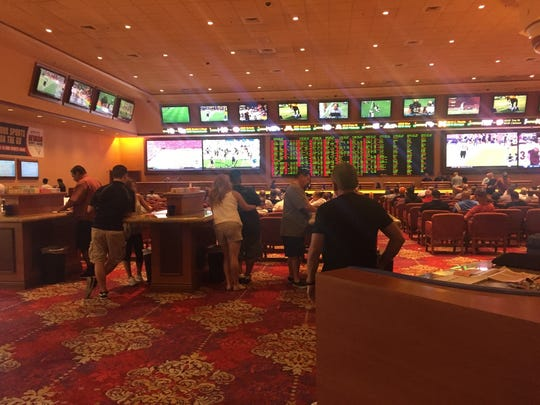 South Point Hotel & Casino sports book