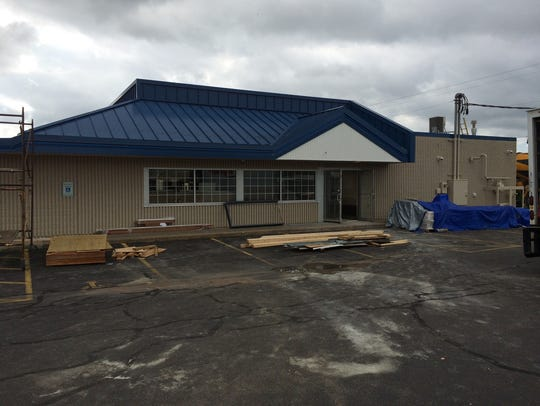 The Marshfield Culver's is undergoing a complete revamp